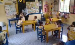 Conversa com as Crianças de Jardim da FIF sobre à Prevenção do Consumo do Álcool e outras Drogas